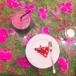 お花畑気分♡話題カフェの【フラワーテーブル】をインスタUPしよう!のサムネイル画像