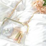 バッグの中身も見せる時代!【クリアバッグ】をおしゃれにもつ方法♡のサムネイル画像