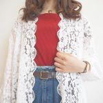 春服不足さん注目!眠っていた夏服と【レースガウン】で春コーデ♡のサムネイル画像