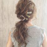 巻かない&編まずにOK♡【マジェステとヘアピン】で作るラクかわヘアのサムネイル画像