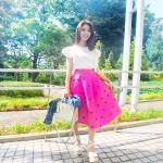 暑い夏も軽やかに♡コーデの主役は【ロングスカート】で決まり!のサムネイル画像