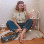【ポップコーントップス】で夏のコーデはレトロかわいく♡のサムネイル画像