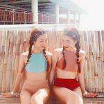 SHOPLISTで買えちゃう♡オシャレなプチプラ【双子水着】をチェック!のサムネイル画像