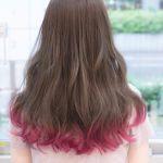 おしゃれ女子が注目している【裾カラー】でパッと華やかヘアーに♡のサムネイル画像