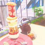 巨大パフェが話題【サロンベイクアンドティー】をカフェ巡りに追加♡のサムネイル画像