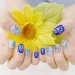 ちび爪さんにおすすめ♡【ショートネイル】に似合う夏ネイルカタログのサムネイル画像