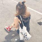 毎日履いても楽しい【赤コンバース】!着回し一週間ダイアリー♡のサムネイル画像