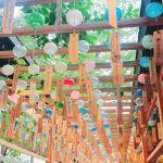 夏の終わりに想いをのせて。埼玉県川越市【氷川神社】の縁結び風鈴のサムネイル画像