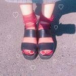 2大靴下ブランドで叶う!【シースルーソックス】はこう合わせる♡のサムネイル画像