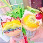 季節の果物がつまったブーケ♡【花束】みたいなクレープが食べたい!のサムネイル画像