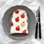 女子なら朝からフォトジェを狙え!「#柄トースト」がかわいすぎる♡のサムネイル画像
